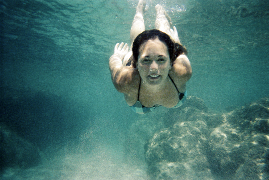 Quick Snap Underwater portrait